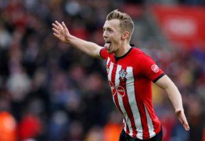 Southampton midfielder James Ward-Prowse says he is determined to finish what has been an 'up and down' campaign on a high.