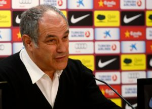 Sporting director Andoni Zubizarreta will not be leaving Marseille this summer, president Jacques-Henri Eyraud has confirmed.