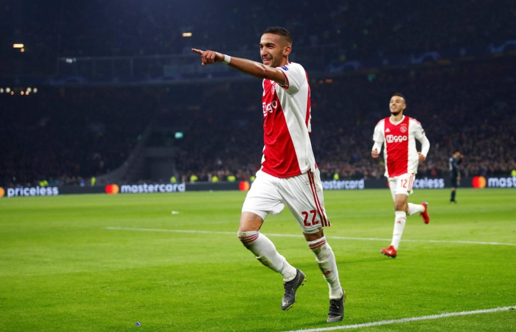 Hakim Ziyech is set to leave Ajax in the summer if a big club makes a bid for him, according to sporting director Marc Overmars.