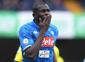 Manchester United are reported to have failed with a £95million bid for Napoli central defender Kalidou Koulibaly after the Serie A side said no deal.