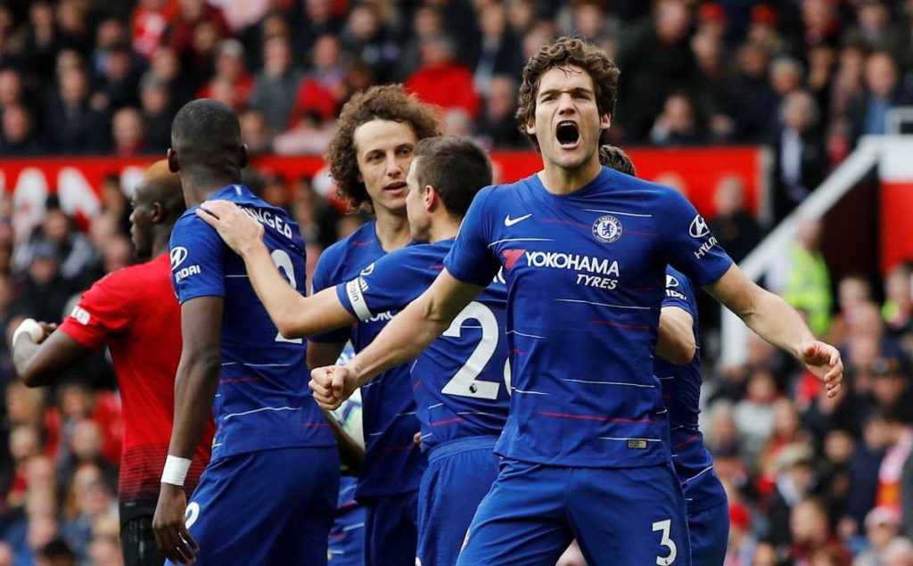 Marcos Alonso says he is happy at Chelsea but has refused to rule out a potential switch to Real Madrid.