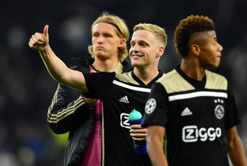 According to reports in Germany, Borussia Dortmund have ended their interest in signing Ajax midfielder Donny van de Beek.