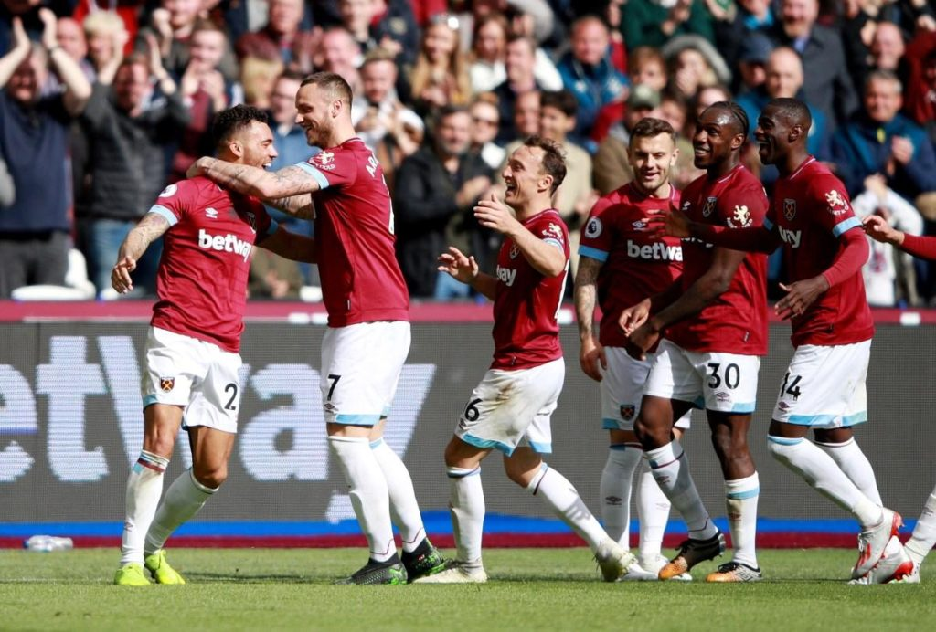 Marko Arnautovic scored twice as West Ham United completed the double over Southampton by easing to a 3-0 victory.