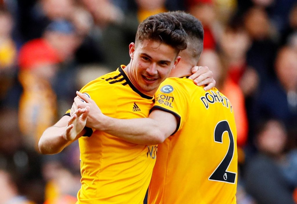 Relegated Fulham's three-match winning run came to an end at Molineux as Wolves beat Scott Parker's team 1-0.