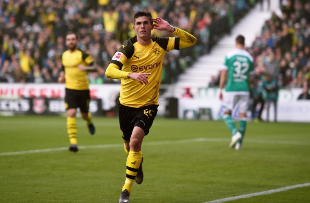 Midfielder Christian Pulisic says he is ready for the challenge of the Premier League as he prepares to join Chelsea.