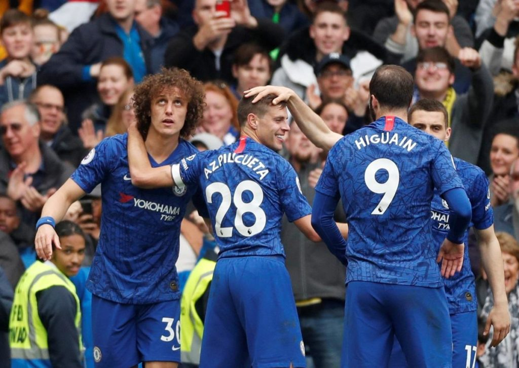Chelsea jumped up to third place in the Premier League with a 3-0 win over Watford at Stamford Bridge.