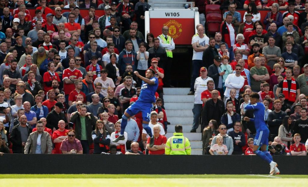 Manchester United's Premier League campaign ended with a disappointing 2-0 defeat against relegated Cardiff City at Old Trafford.