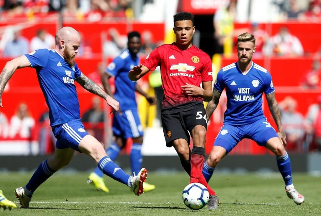 Mason Greenwood will have to wait for a salary increase, despite making his full Manchester United debut in the defeat against Cardiff.