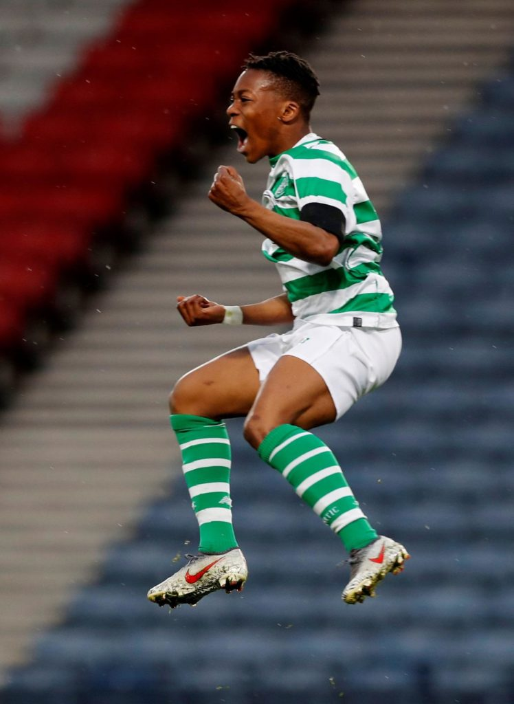 Neil Lennon has hinted at the possibility of Karamoko Dembele winning his Celtic debut against Hearts on Sunday.
