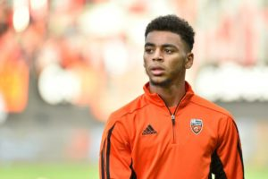 Arsenal are weighing up another swoop on Ligue 2 outfit Lorient - this time for £9million-rated forward Alexis Claude-Maurice.