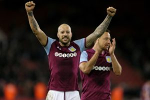 Wigan Athletic are ready to offer experienced defender Alan Hutton a contract following his release by Aston Villa.