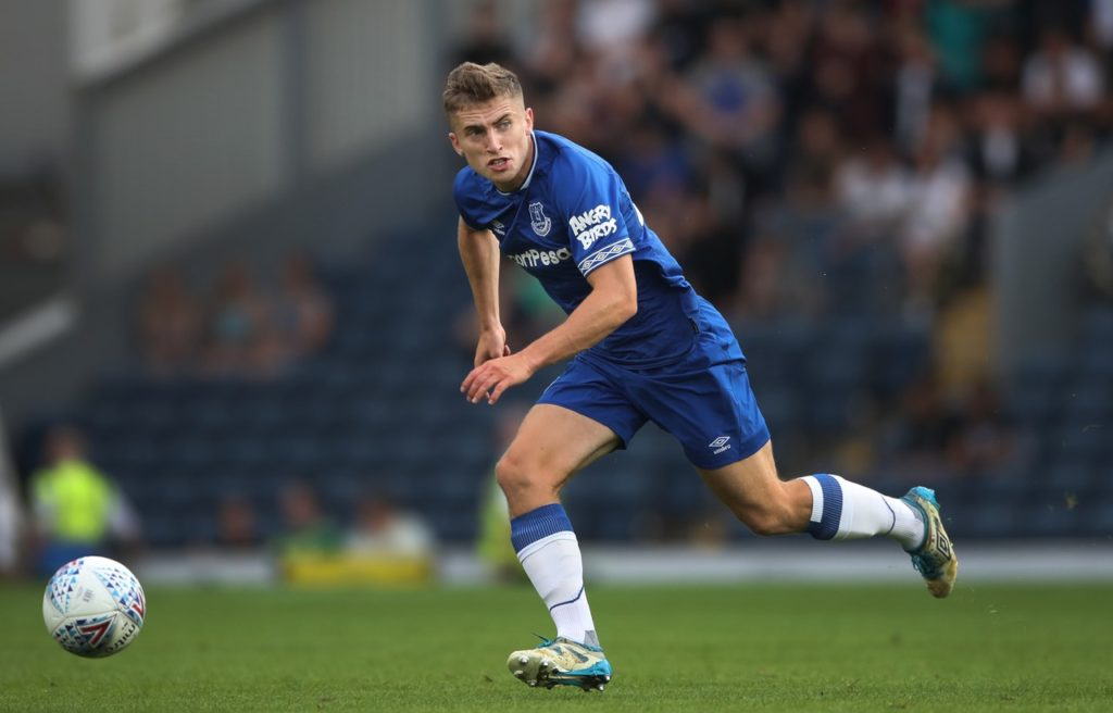 Schalke right-back Jonjoe Kenny says he is not planning to stay at the club and is hoping to return a 'better player' at Everton.