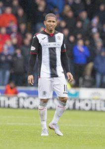 St Mirren have announced the departure of striker Simeon Jackson.