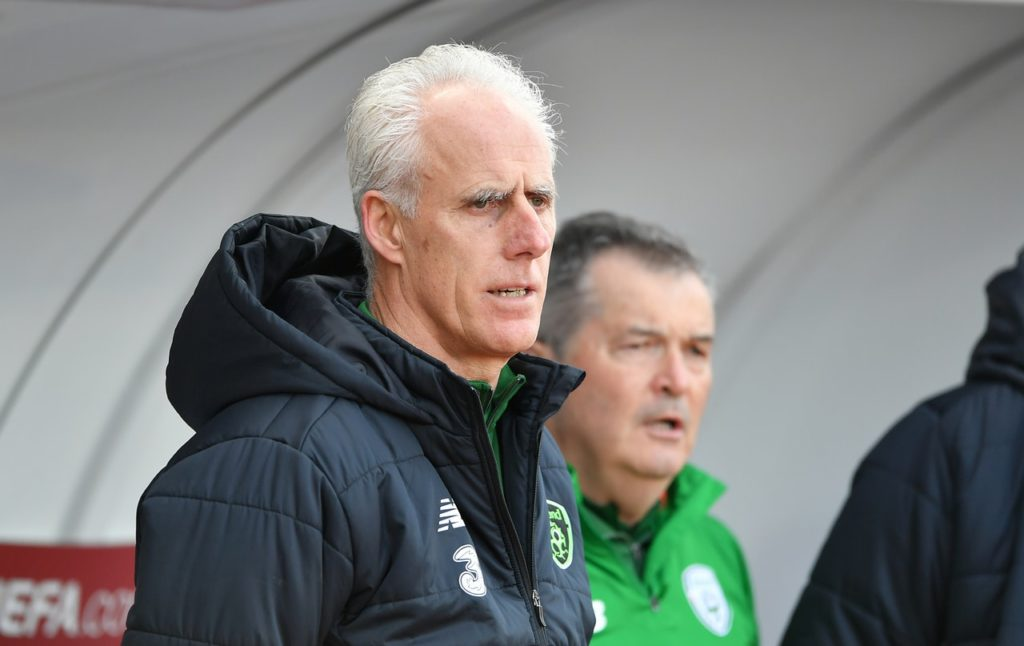 Mick McCarthy's Republic of Ireland head into their Euro 2020 qualifier in Denmark on Friday evening sitting proudly at the top of Group D.