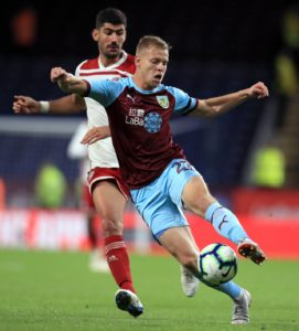 Burnley striker Matej Vydra looks set to remain at Turf Moor this summer with interest from Leeds United believed to have cooled off.