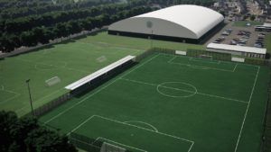 Celtic have announced plans to upgrade their Barrowfield training ground - including the construction of one of Scotland's largest indoor football arenas.