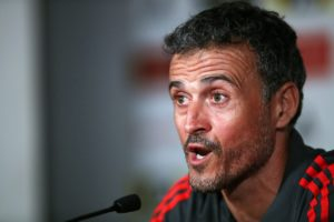 Luis Enrique has stepped down as head coach of Spain after just 11 months in the job.