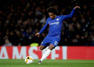 Chelsea have reportedly turned down bids from both Barcelona and Atletico Madrid for winger Willian.