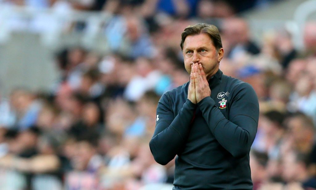Southampton boss Ralph Hasenhuttl says a top ten finish is the realistic target for his team next season.