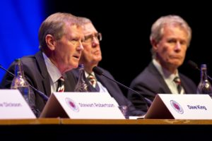 Dave King has thanked the Rangers shareholders for backing a move to wipe out 14million of debt.