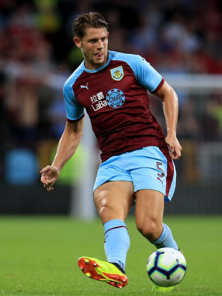 According to reports in England, Burnley have turned down an approach from Wolves for defender James Tarkowski.