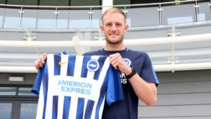 Brighton have completed the signing of defender Matt Clarke from Portsmouth for an undisclosed fee.