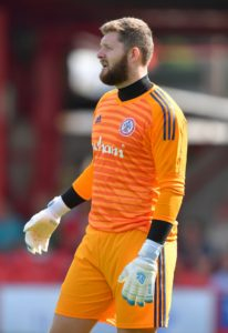 Exeter have signed goalkeeper Jonny Maxted from Accrington.