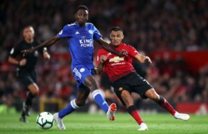 Leicester midfielder Wilfred Ndidi says he is 'flattered' to be linked with Manchester United but insists a move is not on his mind.