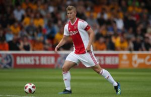 Italian champions Juventus are reportedly winning the race to sign sought-after Ajax defender Matthijs De Ligt.