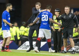 Steven Gerrard says he would have to consider any acceptable offers that come in for Rangers duo Alfredo Morelos and James Tavernier.