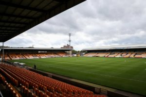 Port Vale have announced striker Ricky Miller has left the club.