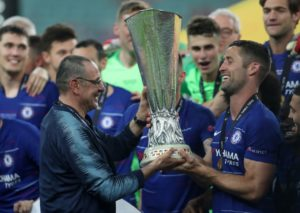 Maurizio Sarri has defended his football philosophy and says he has taken a step up after swapping Chelsea for Juventus.