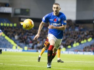 Eros Grezda will not be joining Rangers in Portugal next week, according to the winger's agent.
