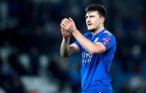 Manchester United are hoping they win the battle to sign Harry Maguire from Leicester by outbidding local rivals Manchester City.