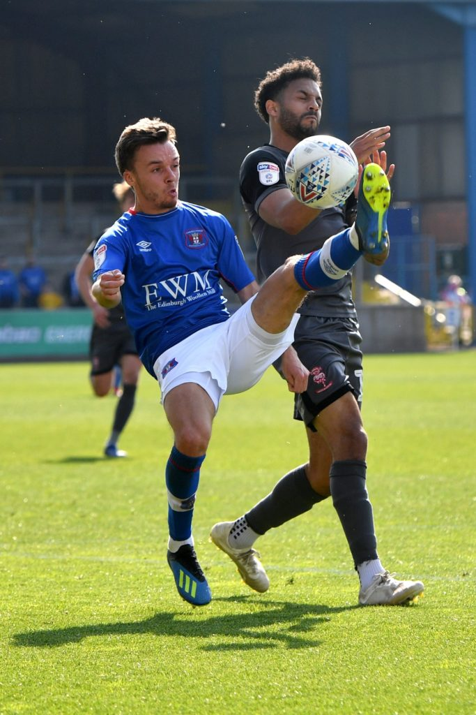 Midfielder Stefan Scougall has signed a new contract to keep him at Carlisle until the end of the forthcoming season.
