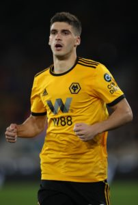 According to reports, Lyon are weighing up an offer for Wolverhampton Wanderers left-back Ruben Vinagre.