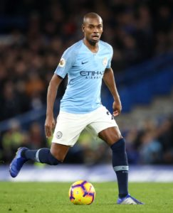 Brazil are hopeful Fernandinho will recover from a knee injury in time for their Copa America quarter-final clash against Paraguay.
