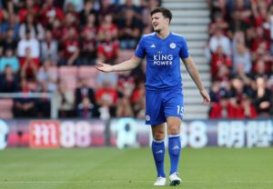 Manchester United are hoping to outbid Man City to sign Leicester defender Harry Maguire this summer.
