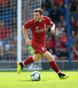 Andy Robertson insists he's still got plenty of room for improvement at Liverpool despite an outstanding season at left-back.