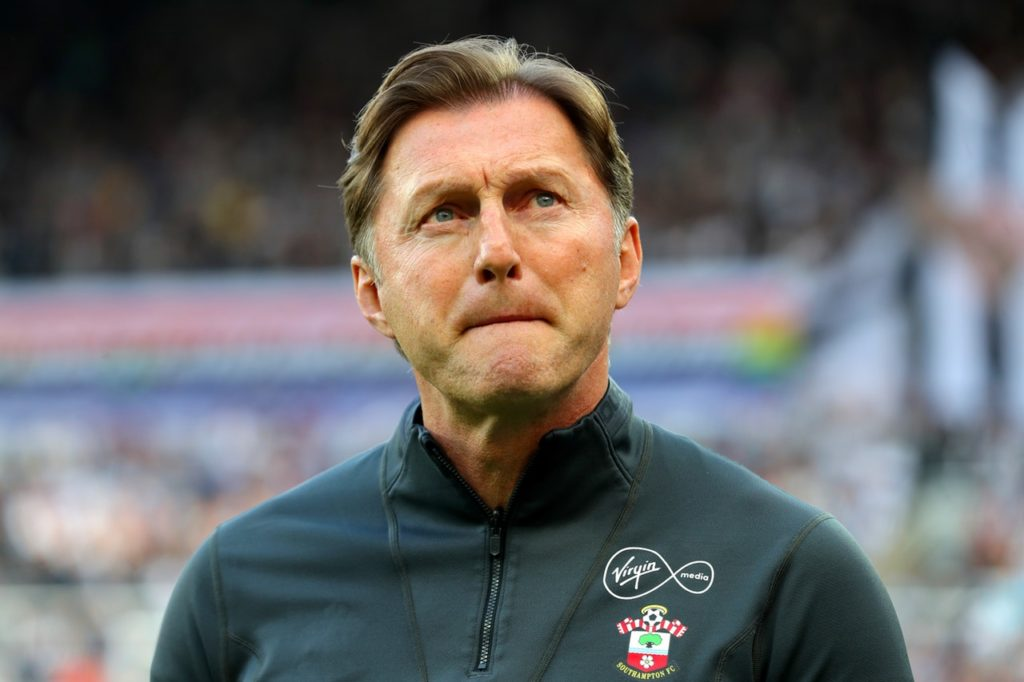 Southampton boss Ralph Hasenhuttl says his only focus is on his current club as he moulds his squad for next season.