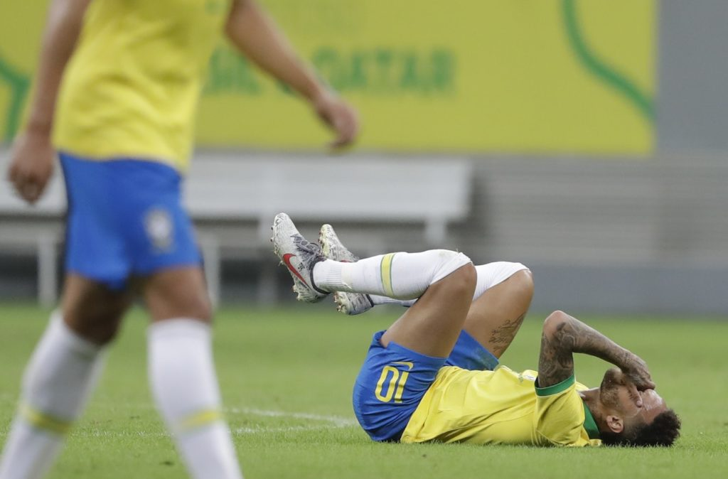 Brazil forward Neymar has been ruled out of the Copa America with an ankle ligament injury.
