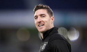 Defender Stephen Ward has joined Stoke on a one-year deal following his release by Burnley.