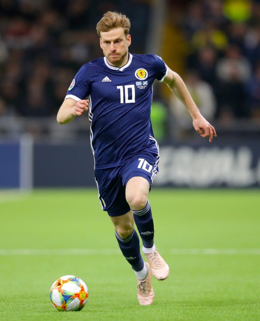Stuart Armstrong aims to seize the chance to make up for Scotland's poor start to their European Championship qualifying group.