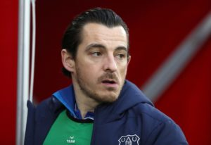 Everton defender Leighton Baines has revealed his pride at signing a new one-year contract with the club and is targeting silverware.