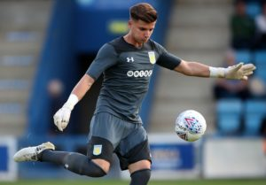 Livingston boss Gary Holt believes he has filled the hole left by Liam Kelly's exit after securing Aston Villa goalkeeper Matija Sarkic on a season-long loan.