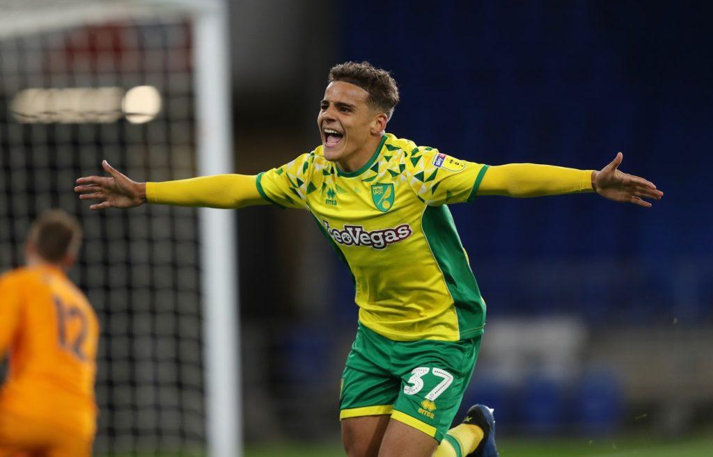 Norwich City full-back Max Aarons is reportedly on the radar of Premier League giants Manchester United.