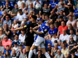 Rangers have completed the signing of defender George Edmundson from Oldham, the Ladbrokes Premiership team have announced.