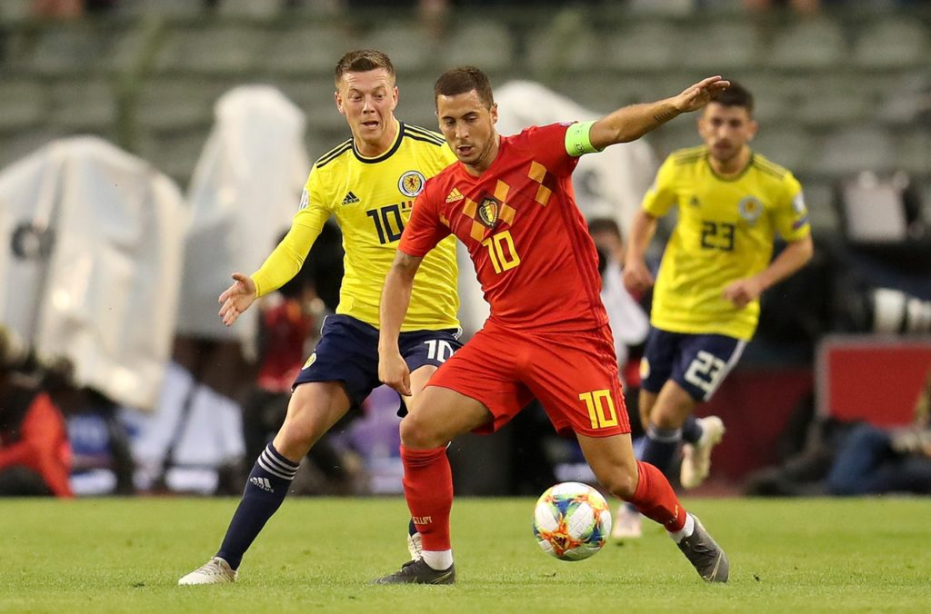 Scotland midfielder Callum McGregor is looking forward to a 'well-earned' break after finally completing his gruelling 69-game campaign.