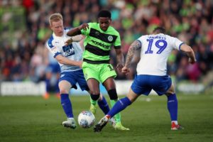 Huddersfield have signed midfielder Reece Brown from Forest Green on a three-year deal.