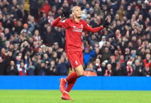 Liverpool midfielder Fabinho says he is satisfied with his debut season in the Premier League after enduring a slow start.